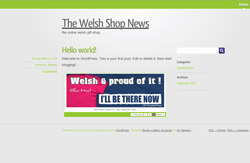 the welsh shop news blog goes live