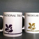 National Trust oak leaf tree mug