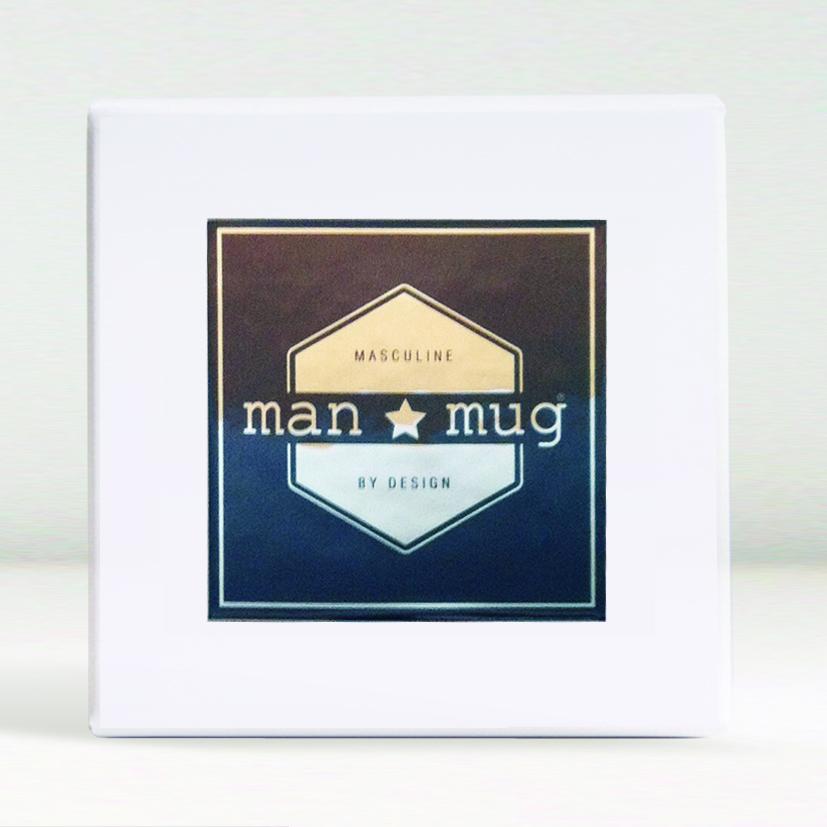 new man mug gift box in white
