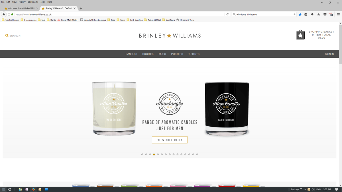 brinleywilliams.co.uk homepage