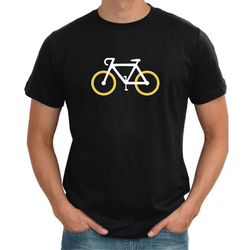 Racing Bike Mens T shirt