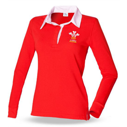 Ladies Welsh Rugby Shirts