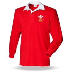 mens Welsh Rugby Shirts at Brinley Williams