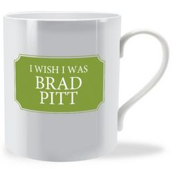 Personalised Bone China Mug - Custom Front & Back