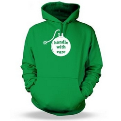 Handle with Care Adult Hoodie