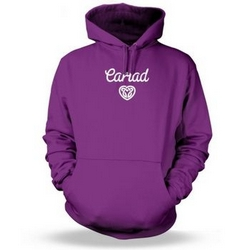 Cariad Celtic Heart Adult Hoodie