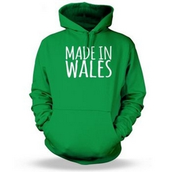 Made in Wales Adult Hoodie