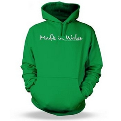 Made in Wales - Drunk around the World Adult Hoodie