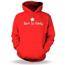 Born To Party Kids Hoodie
