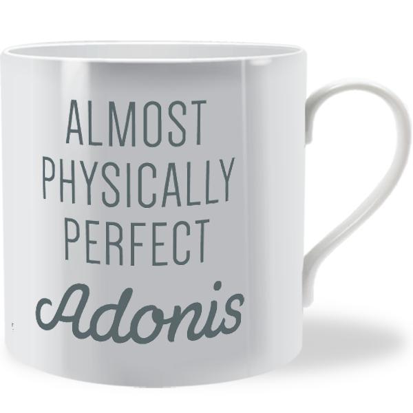 Almost Physically Perfect Adonis Man Mug Brinley Williams
