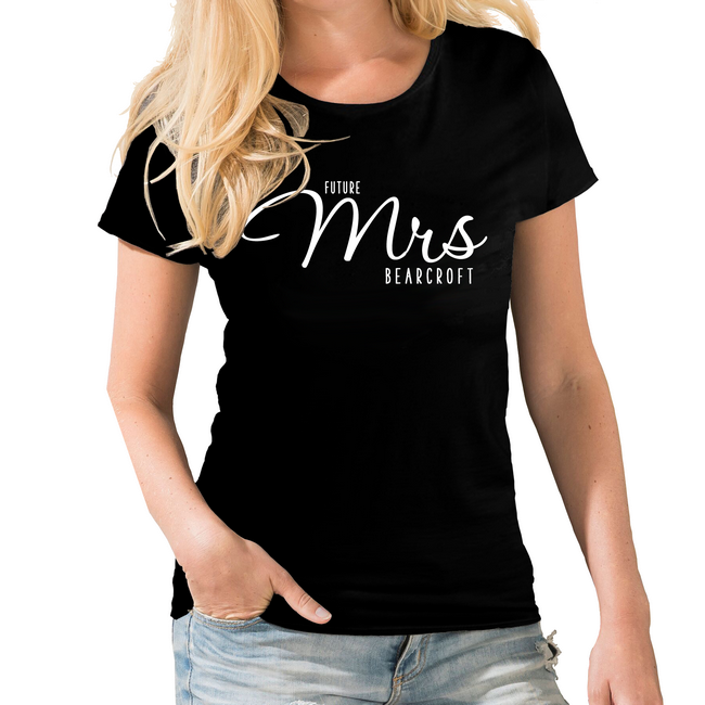a373c54a1d929 Future Mrs Wedding Personalised T-shirt