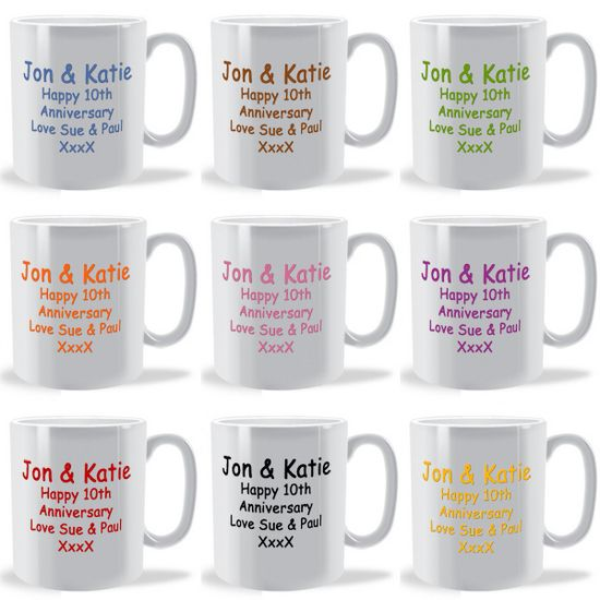 Personalised design and text mug Design your own mugs uk