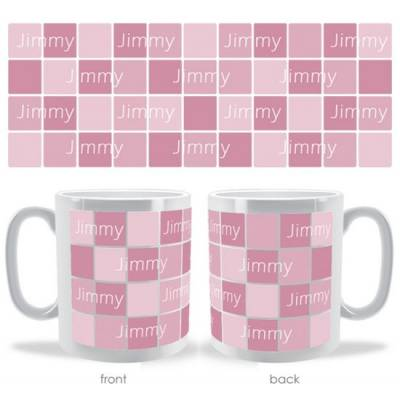 Personalised Square Mosaic Name Mug