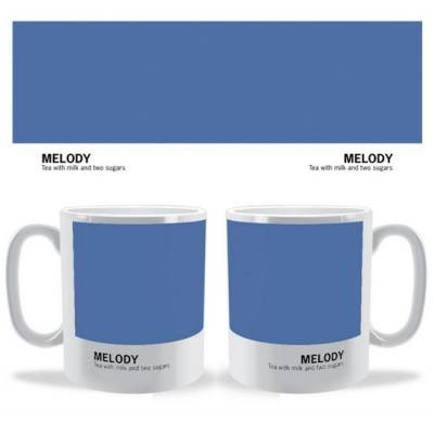 Personalised Colour Swatch Mug