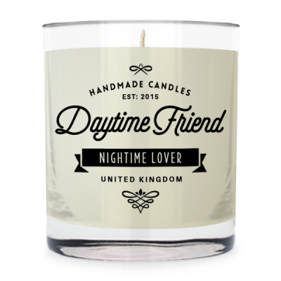 Daytime Friend - Nightime lover ~ scented candle