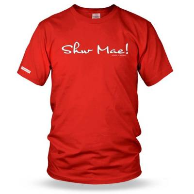 Shw Mae - How's it Going? Mens t shirt