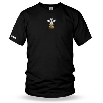 3 Feathers Mens Rugby t shirt - Wales