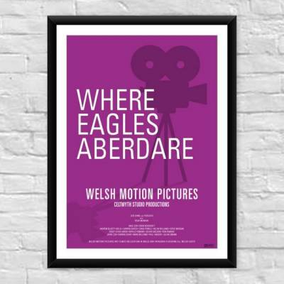 Where Eagles Aberdare Welsh Film Poster
