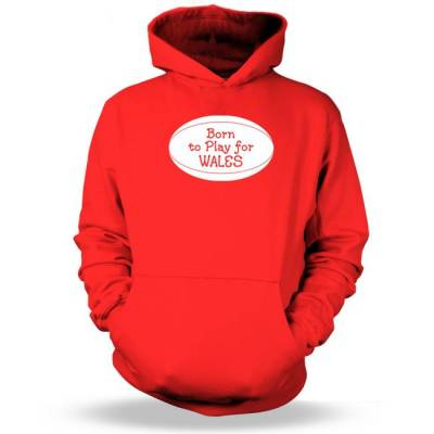 Born To Play For Wales Kids Hoodie