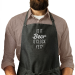 Is it Beer O'Clock Yet - Man Apron