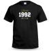 Limited Edition Year Mens Personalised T shirt