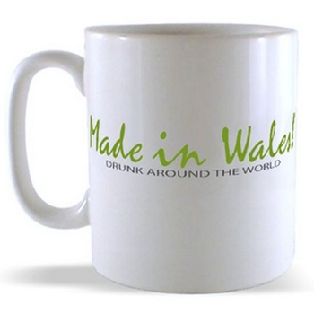 Made in Wales - Drunk around the world Mug