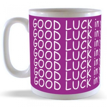 GOOD LUCK in your NEW HOME Mug
