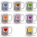 Personalised I  Heart Initials Mug