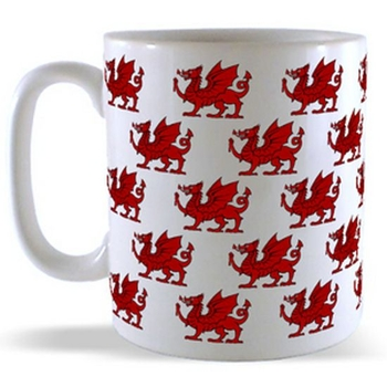 Red Dragon Pattern Mug