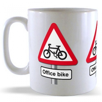 Office Bike - Road Sign Mug