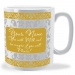 Personalised Damask Mug