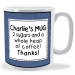 Personalised Stamp Mug