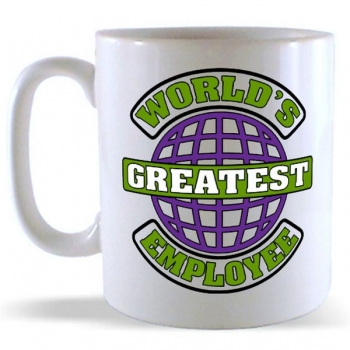 World's Greatest Employee Mug