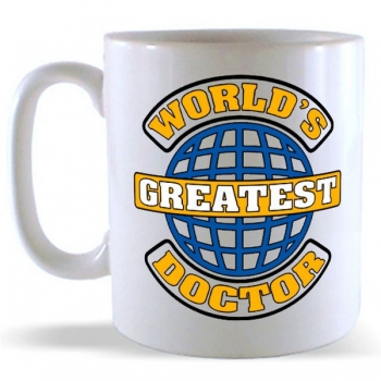 World's Greatest Doctor Mug