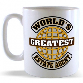 World's Greatest Estate Agent Mug