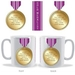 Personalised Medal Mug