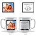 Personalised Plain Photo Frame Mug