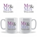 Personalised Mr and Mrs Mug