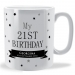 Birthday Confetti Customised Mug