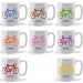 Personalised Racing Biike Mug