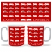 Personalised Lots of Cars Mug