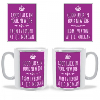 Crown Poster Personalized Mug