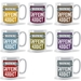 Caffeine Addict Warning mug