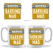 Barking Mad Warning mug