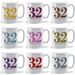 Personalised House Number and Address mug