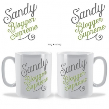 Blogger Supreme Personalised Mug