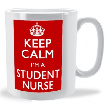 Keep Calm I'm a Student Nurse Mug