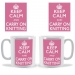 Keep Calm and Carry On Knitting Mug