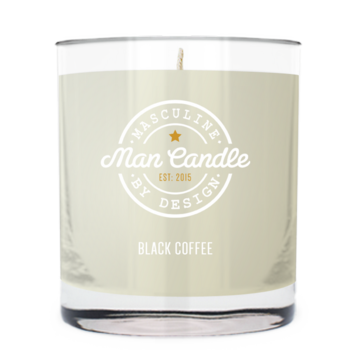 Black Coffee ~ Man Candle