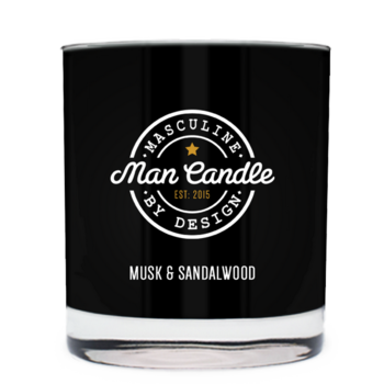 Musk & Sandalwood ~ Man Candle
